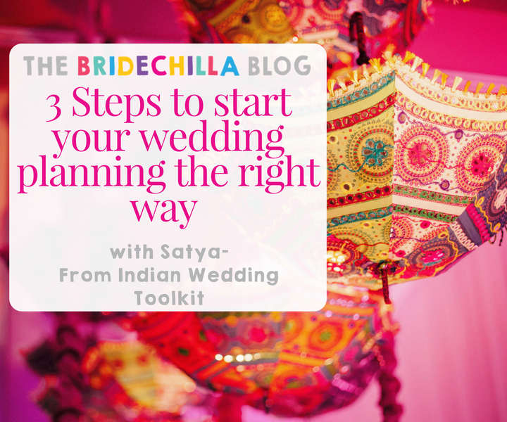3 Steps To Start Your Wedding Planning The Right Way